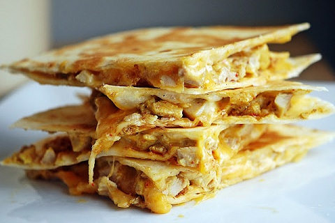 Tandoori-Chicken-Quesadilla