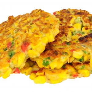 Sweetcorn And Chilli Pepper Fritters